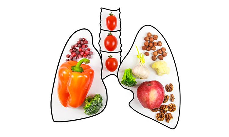 ویتامین سلامت ریه